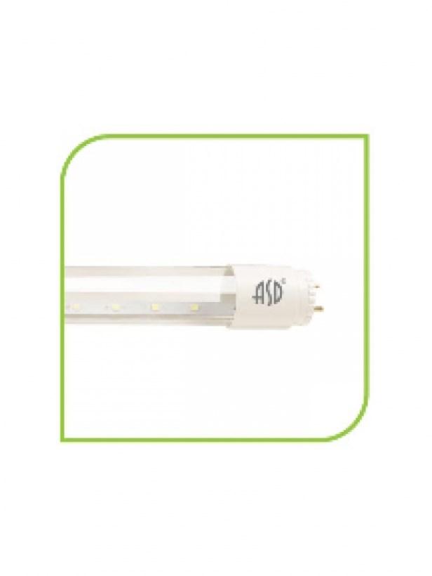 Лампа светодиодная LED-T8R-eco 10Вт 230В G13 4000К 800Лм 600мм ASD