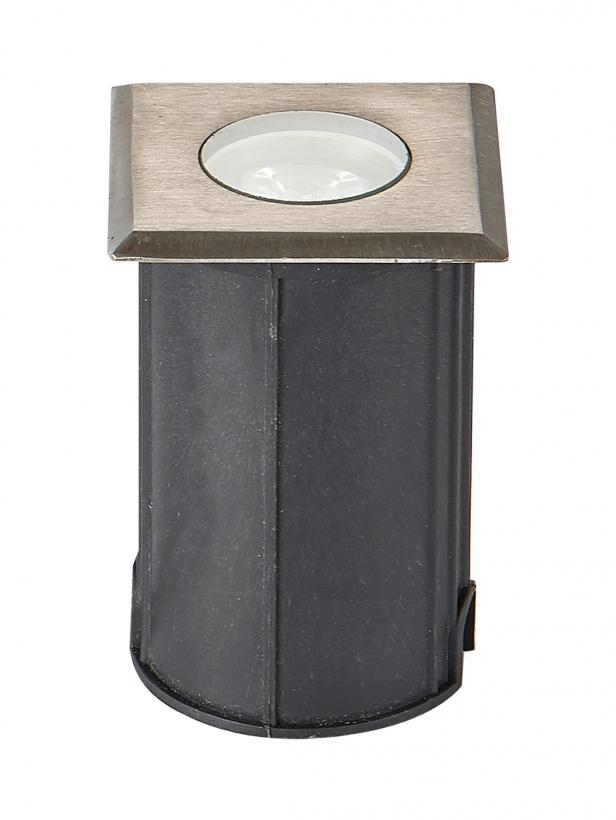 Тротуарный  светодиодный светильник  квадрат  UG0421S  AC/12V  1W   3000/6000К  IP68 D42*H70mm (низковольтный)