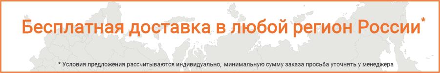 Бесплатная доставка во все регионы России